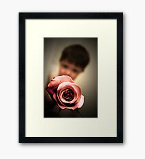 You want it? It's yours! Framed Print
