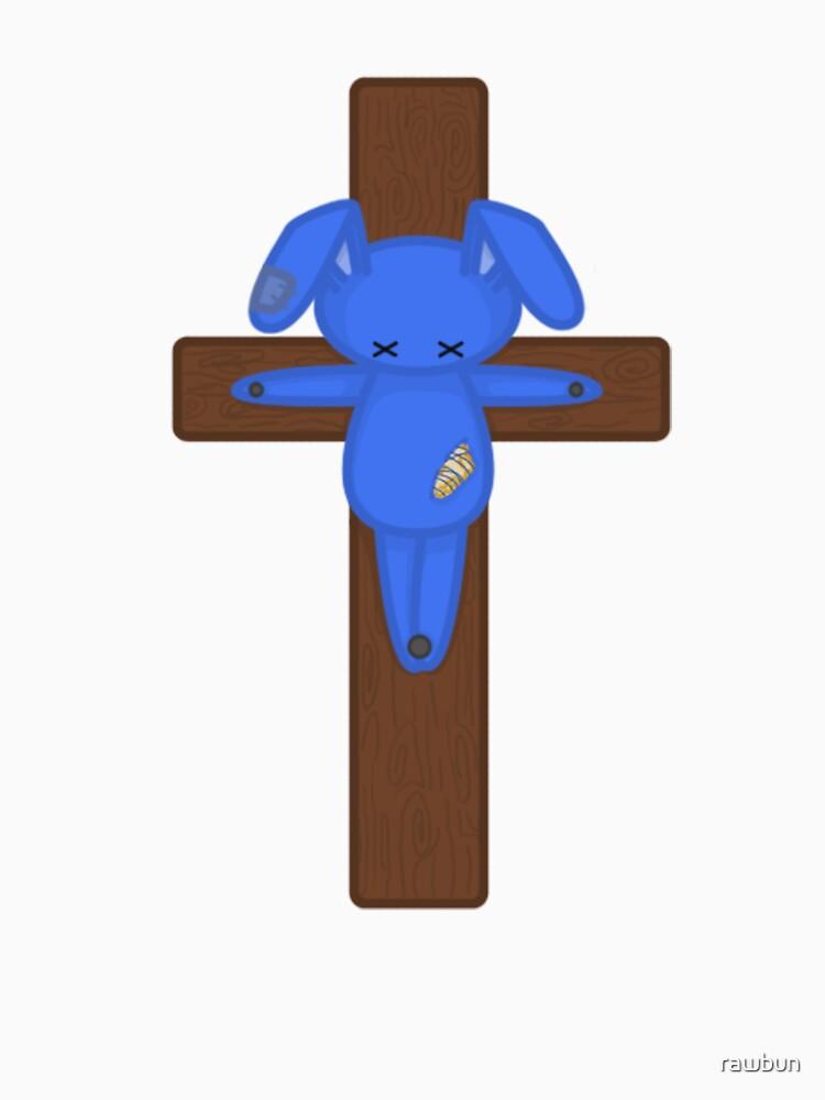 Bunny on the Cross by rawbun