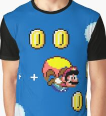 Mario Flying  Graphic T-Shirt