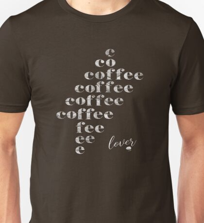 Coffee Lover Unisex T-Shirt