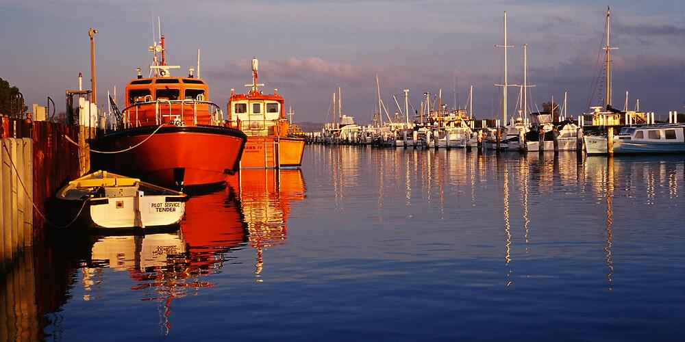 Pilot Boats - Queenscliff - Victoria by James Pierce