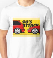 Honda Civic EF Mugen - 90'S Attack Unisex T-Shirt