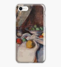 Camille Pissarro - Still Life With Apples, 1895-98 iPhone Case/Skin