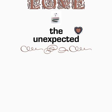 The unexpected - in ochre by absalom