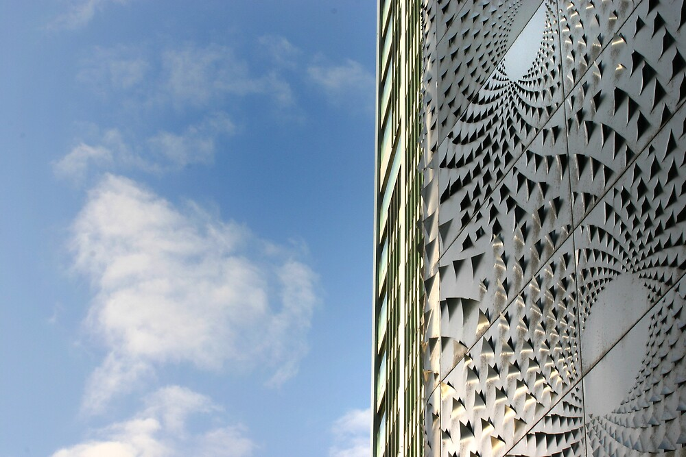 Textured building 3 by rick strodder