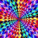 Rainbow Star  by Brian Exton