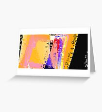 Composition I Greeting Card