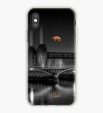 Battersea pink floyd edit iPhone Case