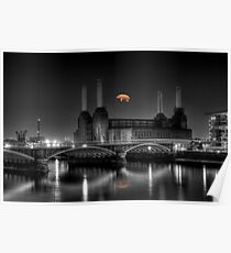 Battersea pink floyd edit Poster
