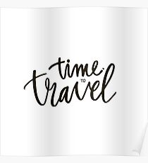 Time to travel Poster