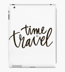 Time to travel iPad Case/Skin