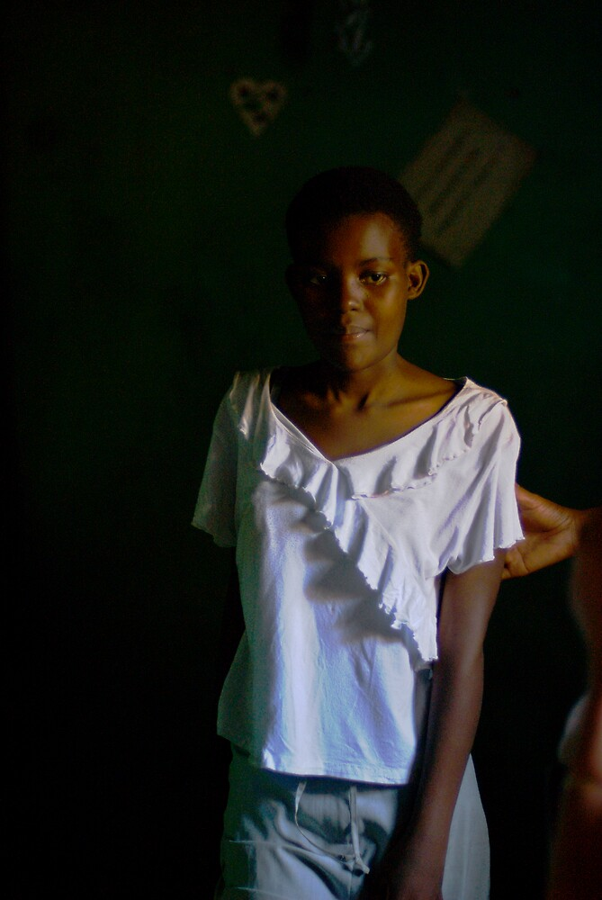 Child rape victim Rwanda by Melinda Kerr