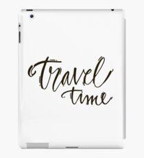Travel time iPad Case/Skin