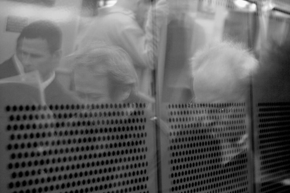 Ghosts on a train by rick strodder