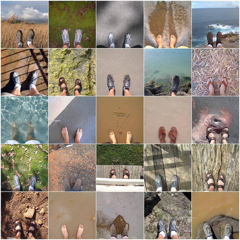 juxtoposed footwork by Devan Foster