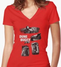 Dune Buggy - Bud Spencer Terence Hill  Women's Fitted V-Neck T-Shirt