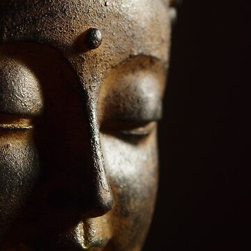 Peaceful Smiling Buddha by MindOrchestra