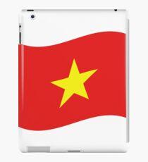 Vietnam Flag Wave iPad Case/Skin