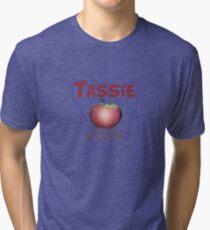 Tassie – Cooler than the Mainland 2 Tri-blend T-Shirt