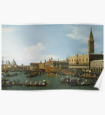Canaletto - The Bucintoro Poster