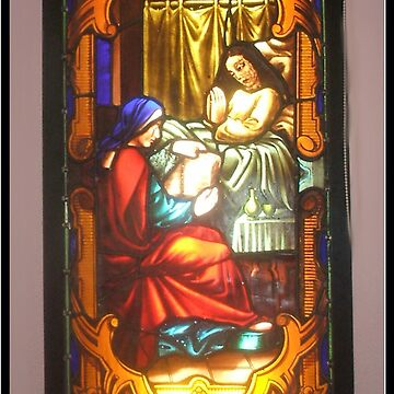 Stained glass panel 2 by Luvlee