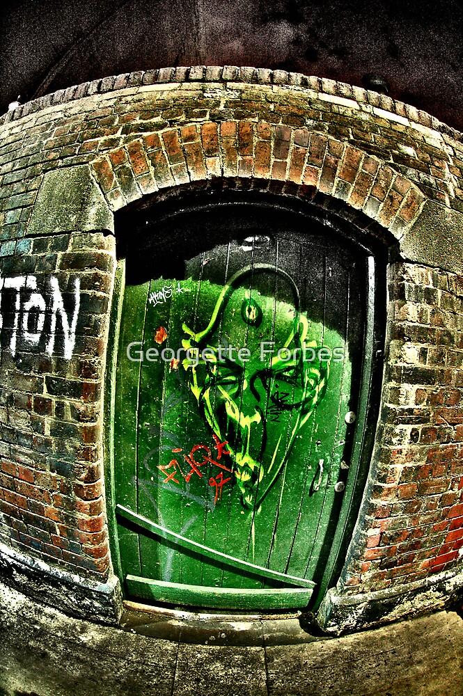 GREEN DOOR by Georgette Forbes