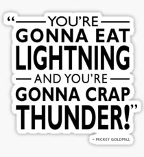 Gonna Eat Lightning Sticker