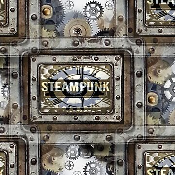 Steampunk Metalplated by Artisimo