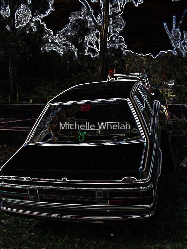 techno car by Michelle Whelan