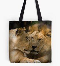 Feline Romance Tote Bag