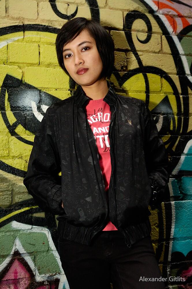 Urban girl by Alexander Gitlits