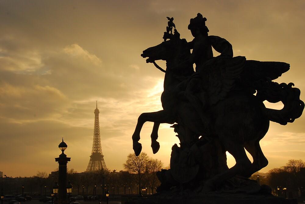 Eiffel Tower by chrisg