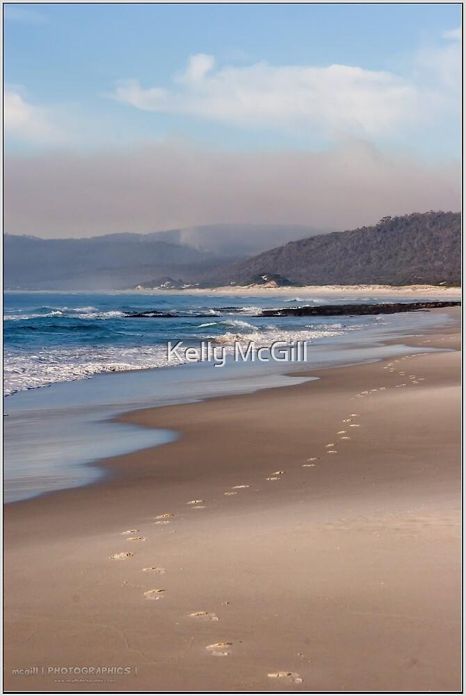 Friendly Beaches Footprints by Kelly McGill