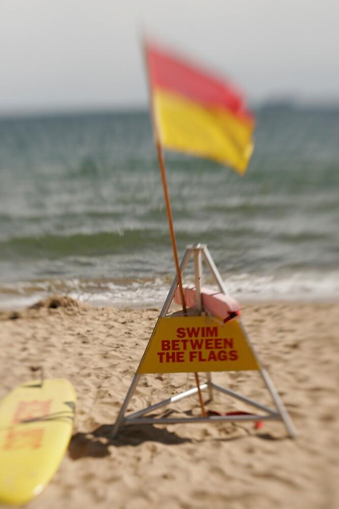 Swim between the flags by Heidi Wernicke