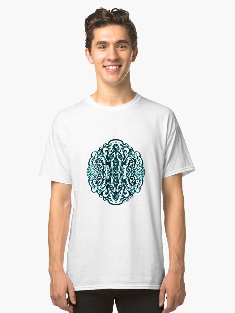 Alternate view of Hive Mind - Damage Remix Classic T-Shirt