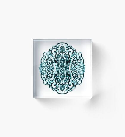 Hive Mind - Damage Remix Acrylic Block