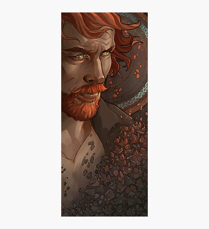 Captain Flint, Black Sails Photographic Print