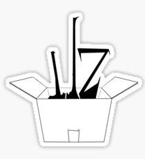 razione ILZ - logo base Sticker