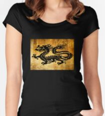 Vintage Dragon Women's Fitted Scoop T-Shirt