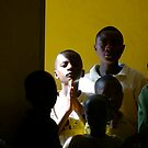 'Child in church,' Northern Rwanda by Melinda Kerr