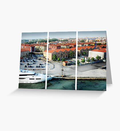 Leaving Venice Greeting Card