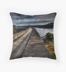 Woronora Dam Throw Pillow