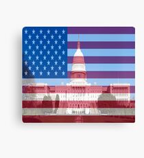 United States Capital Building Canvas Print