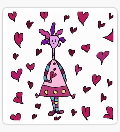 LOVE SILLY Sticker