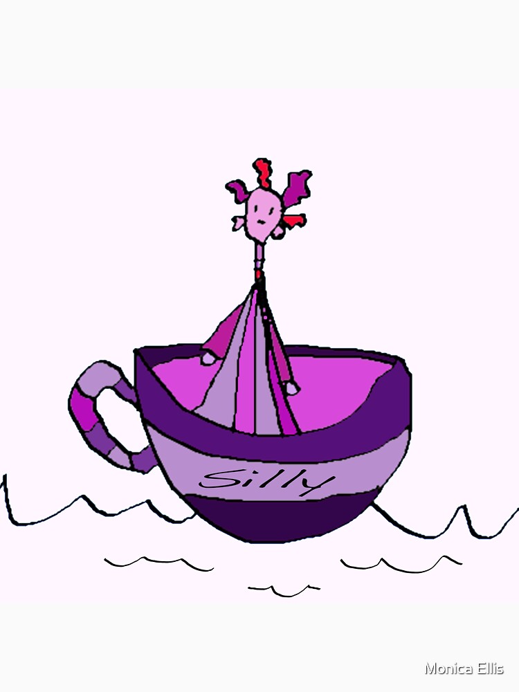 Silly Sailed Away In A Teacup by monica