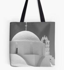 Chapel on Amorgos Tote Bag