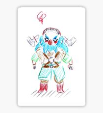 Blue Dwalin Sticker