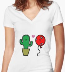 Love, despite everithing Women's Fitted V-Neck T-Shirt