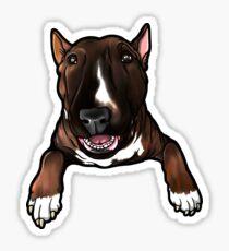 English Bull Terrier Bruce Sticker