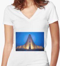Reykjavik Women's Fitted V-Neck T-Shirt